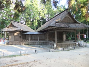 150年以上前の能楽殿