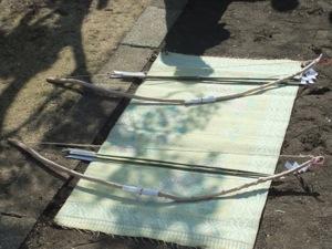 祭祀のための弓矢